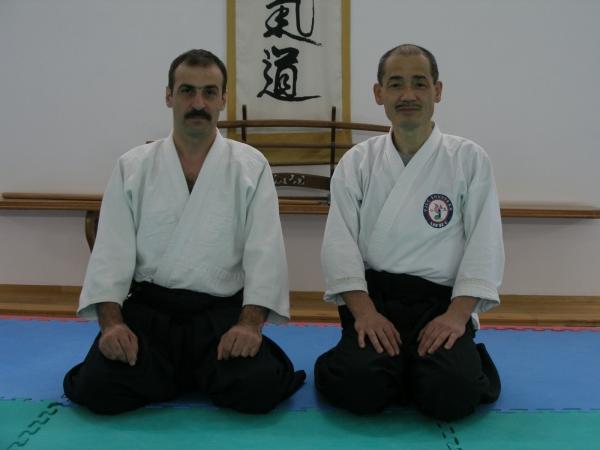 Айкидо в Азербайджане Farhad Alasgarov